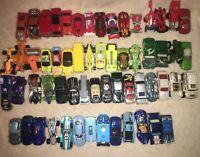 Lot of 60 Toy Cars Hot Wheels, Matchbox and Others
