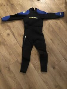 Junior Medium New Without Tags Aqualung Tsunami 7mm Full WetSuit Kids - Item B