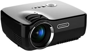 Android iPhone Mini Portable LED Projector Support Full HD 1080P Home UK Seller