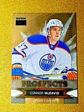 2015-16 Fleer Showcase Connor McDavid Skybox Premium Prospects S20 Rookie /499