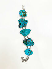Quality Aqua Timeless Women's Bracelet Designer Opal & Silver Vintage