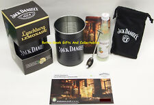 Ltd Ed Lynchburg Lemonade Cocktail Kit With Bean Tin + Postcard By Jack Daniels
