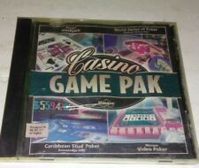 Masque Casino Game Pak PC CD blackjack video poker caribbean stud slot machines