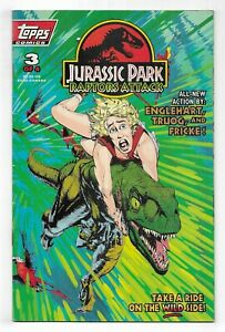 JURASSIC PARK Raptors Attack #3 MODERN AGE TOPPS COMIC BOOK Spielberg Movie 1994
