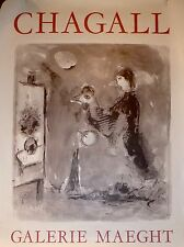Marc Chagall Affiche 160 x 120 cm