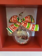 Personalized Christmas Balls.Handmade Christmas Tree Ball Ornaments Ebay