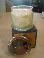 Partylite Bamboo Waters Signature 3-wick Jar Candle Brand New