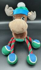 Mr Tennis Ball Feet Moose Style Plush Dog Rope Chew Toy: Perfectly Pawesome