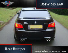 BMW E60 5 Series Rear Bumper M5 Style