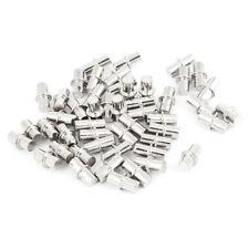 50 Stk Moebel Regalbolzen Support Regal Bolzen Pins Metall silber S6M2 V0D3