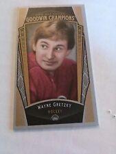Wayne Gretzky 2015 Goodwins Champions Mini Lady Luck /50