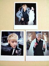 EXO K M POLAROID CARD SM OFFICIAL GOODS -  Tao / Not photo card - 2014 New
