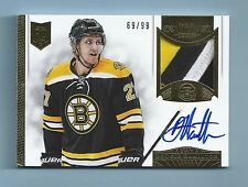 DOUGIE HAMILTON 2013/04 DOMINION RC 4 COLOR PATCH SIGNATURE AUTOGRAPH AUTO /99