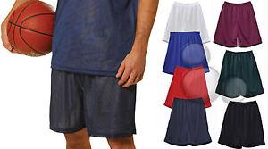 Mens Basketball Shorts Size S M L XL 2XL 3XL Sport Training Mesh Sports