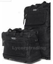 "30"" Expandable Rolling Luggae Duffle Bag W/Spinner Wheels UnZips Upto 3 Sizes"