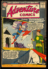 Adventure Comics #269 Intro. Aqualad Krypto Cover Superboy DC 1960 GD+