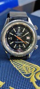 Vintage Rolatron GMT Watch 42mm