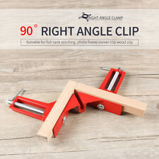 Stable Picture Frame Corner Clamp Clip 90° Right Angle Woodworking Tool Kit