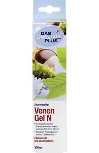 ANTI VARICOSE VEINS GEL Treatment, Tired Legs and Spider Veins, with chestnut