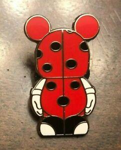 Disney pin vinylmation jr #3 mystery pack ladybug only good bad luck spots dots