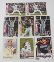 2020 Topps Chrome Max Scherzer #139 World Series Insert #258 Bowman #53 And 4