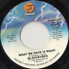 """Blackbyrds* - What We Have Is Right (7"""")"""