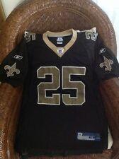Reebok new Orleans Saints Reggie Bush  #25 Football Jersey size M mens