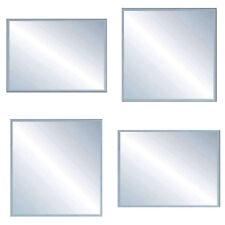 Mirror Square for Bathroom Vanity Basin Bedroom Home Wall