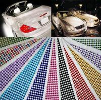 Self Adhesive Diamante Stick on Rhinestone Gems Crystal Beads Phone Car Craft