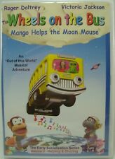The Wheels on the Bus DVD Mango Helps the Moon Mouse by Dorothy G. Singer - New
