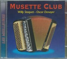 CD Musette Club Willy Staquet Oscar Denayer