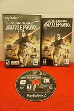 Star Wars: Battlefront 1 PS2 (Sony PlayStation 2, 2004)