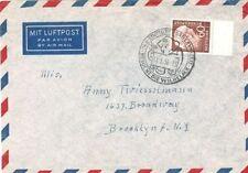 Echte Ungeprüfte Briefmarken aus der BRD (1948-1954) mit Einzelfrankatur