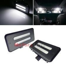Xenon White Error Free LED Vanity Mirror Lights For BMW 3 5 Series X1 X3 X5 X6