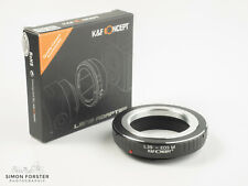 K&F Concept Leica M39 to EOS-M Adapter L39 to Canon EOS M Adapter