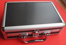 Aluminum Frame Hand Gun Case With Lock and Key