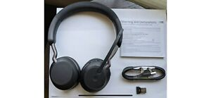 New Jabra Evolve2 65 Stereo Wireless Headset with Link 380a