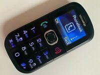 Bluechip BC5P - Black (Unlocked) Mobile Phone Big Button senior Good Condition