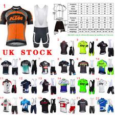 Conjunto de ropa para hombre ciclismo jersey corto mono Pantalones cortos de verano kits de trajes de bicicleta