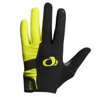 Pearl Izumi 2018 Elite Gel Full Finger Cycling Gloves Screaming Yellow - Large