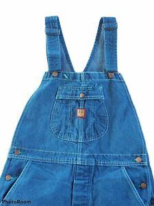 BIG BEN Denim Jeans 34X34 BIB OVERALLS Carpenter Farmer BUTTON FLY