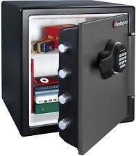 1.2 cu. ft. Digital Safety Deposit Box Electronic Fire,Water and Theft Safe-