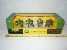 John Deere 20 Series 4-Piece Set 50th Anniversary Edition By Ertl 1/64th Scale