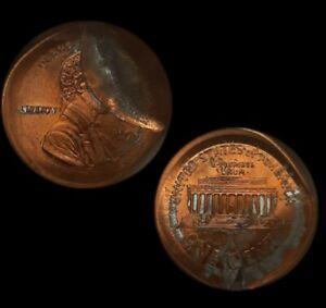1999 mint Error Lincoln Large Broadstrike–Indent Great Eye Appeal