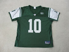 Reebok Chad Pennington New York Jets Football Jersey Womens Extra Large Green *