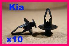 KIA 8-9 mm Cage//Attache pare-chocs /& Porte Panneau Garniture Clips