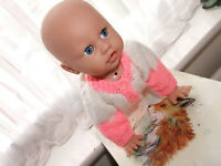 """MIA"" IS A DARLING CRAWLING CHUCKERLING TALKING 15"" BABY DOLL BY TAK MAY"