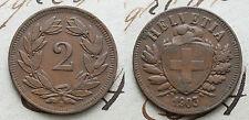 1903   Svizzera Switzerland  2  Rappen  OTTIMA