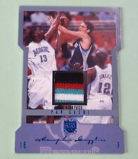 2004-05 FLEER SKYBOX LIMITED EDITION PAU GASOL 4 COLOR PATCH RELIC SSP /15 L@@K