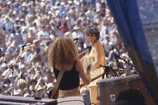 Linda Ronstadt original 35mm film slide in concert 1970's outdioor event
